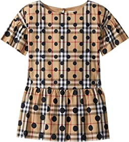 Burberry Kids Anabella Shift Dress (Little Kids/Big Kids)