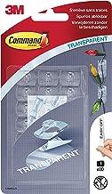 Command  Pack de 20 Clips décoratifs avec 24 languettes Transparent