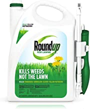 Roundup For Lawns1Ready to Use - All-in-One Weed Killer for Lawns, Kills Weeds - Not the Lawn, One Solution for Crabgrass...