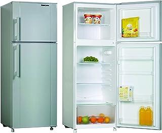 Nikai Silver Double Door Defrost Refrigerator, 280 litre - NRF280DN3S