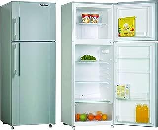 Nikai NRF280DN3S Double Door Defrost Refrigerator, 280 L - Silver