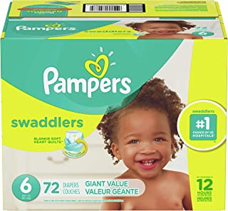 Pampers Swaddlers Pañales Etapa 6 con 72 Piezas