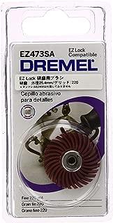 Dremel EZ473SA 220-Grit Detail Fine Abrasive Brush
