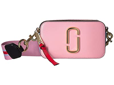 Marc Jacobs Snapshot (Tart Pink Multi) Handbags
