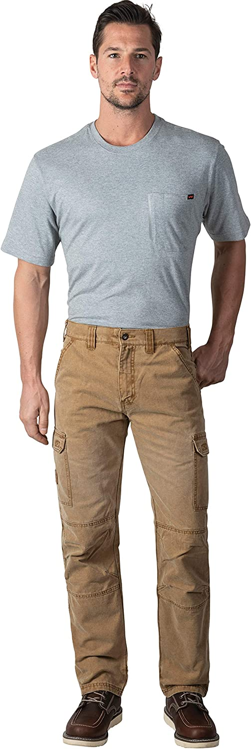Men's Max 81% OFF Vintage Cargo 1 year warranty Utility Work Reinforced Pant with Knees