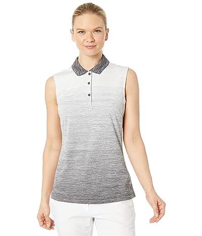 PUMA Golf Ombre Sleeveless Polo (PUMA Black) Women