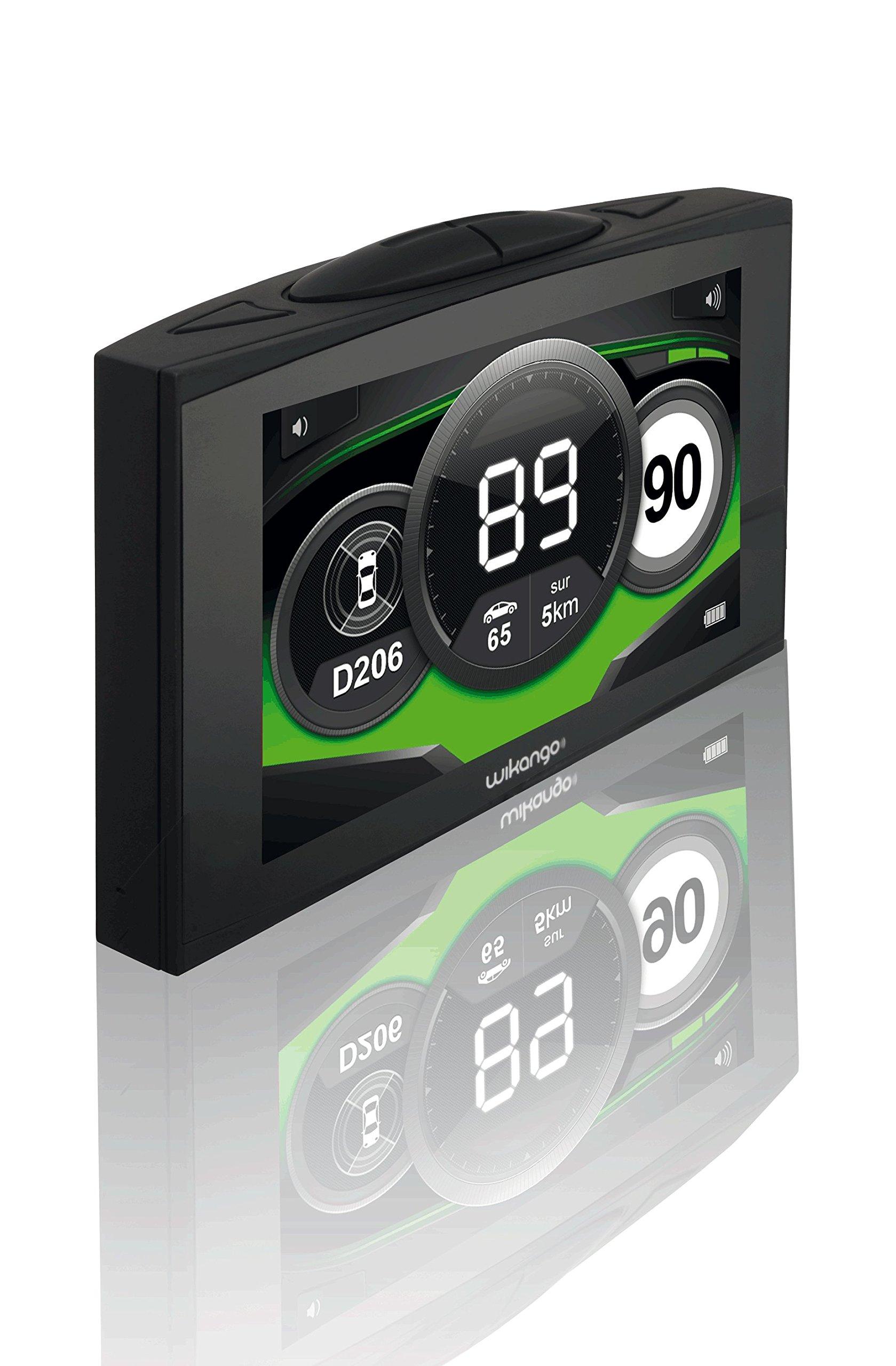 GPS // GPRS Wikango XL con cable USB Avisador comunitario de radares