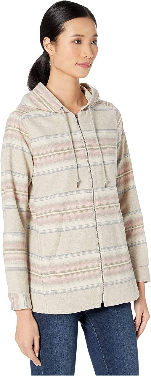 Tan Mix/Pink Serape Stripe