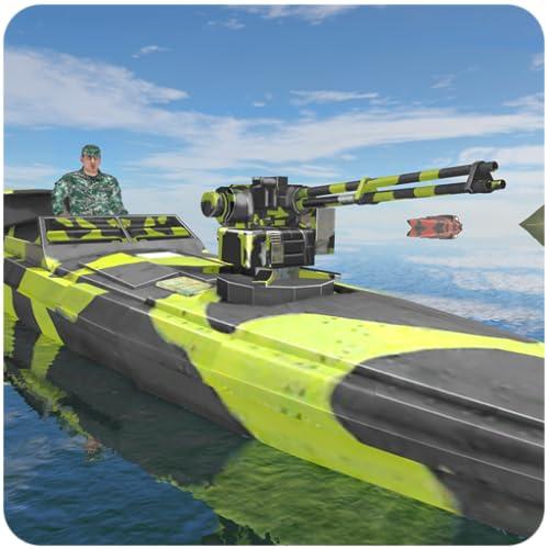 Armee-Boot-Grenze Patrouille-Aufgabe