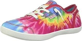 Skechers Bobs B Cute - Tie Dye Frayed Canvas womens Sneaker