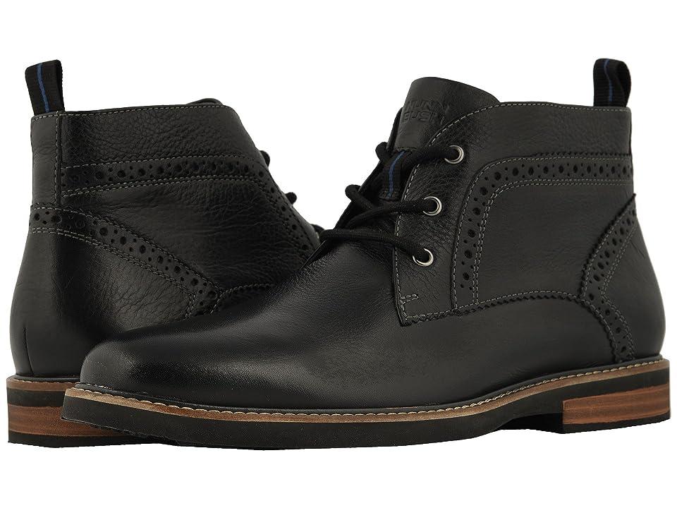 Nunn Bush Ozark Plain Toe Chukka Boot with KORE Walking Comfort Technology (Black Tumbled) Men