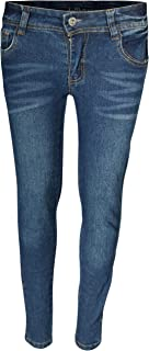 dollhouse Girl's Denim Skinny Jeans with Fashion Designs