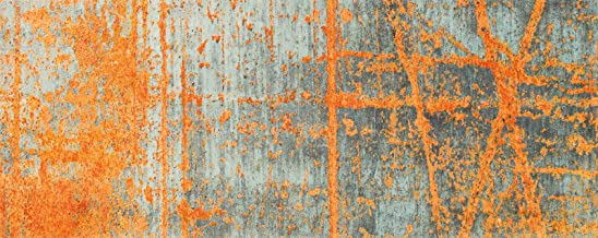 Wash&Dry Doormat, Acrylic Orange, 80 x 200 x 0.9 cm