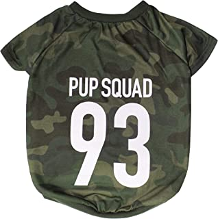 DOG & CAT SHIRT Licensed by LaurDIY - PUP SQUAD - LAURDIY Dog Shirt, X-Small