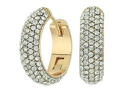 Kate Spade New York Candy Drops Pave Huggies Earrings (Mint) Earring