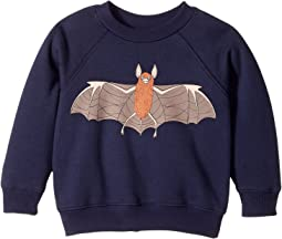 mini rodini - Flying Bat Sweatshirt (Infant/Toddler/Little Kids/Big Kids)