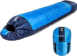 FIT NATION Viking Trek 350x – grote slaapzak als ideaal campingaccessoire voor tenten, trekking + hiking voor volwassenen,...