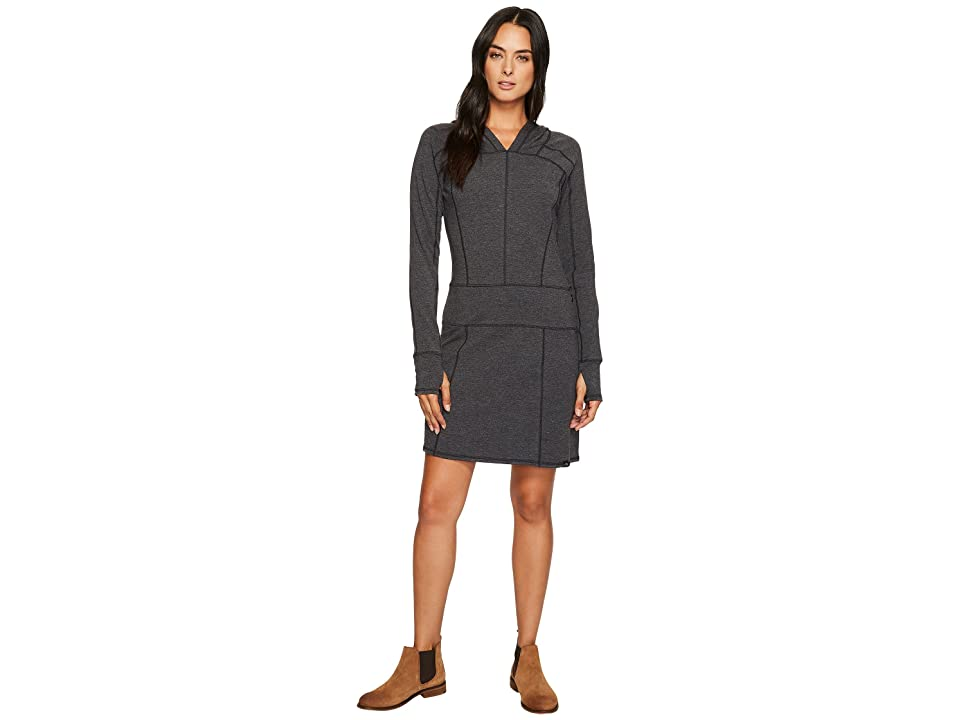 The North Face Long Sleeve TNF Terry Dress (TNF Black) Women