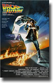 (11x17) Back to the Future Michael J Fox Movie Poster