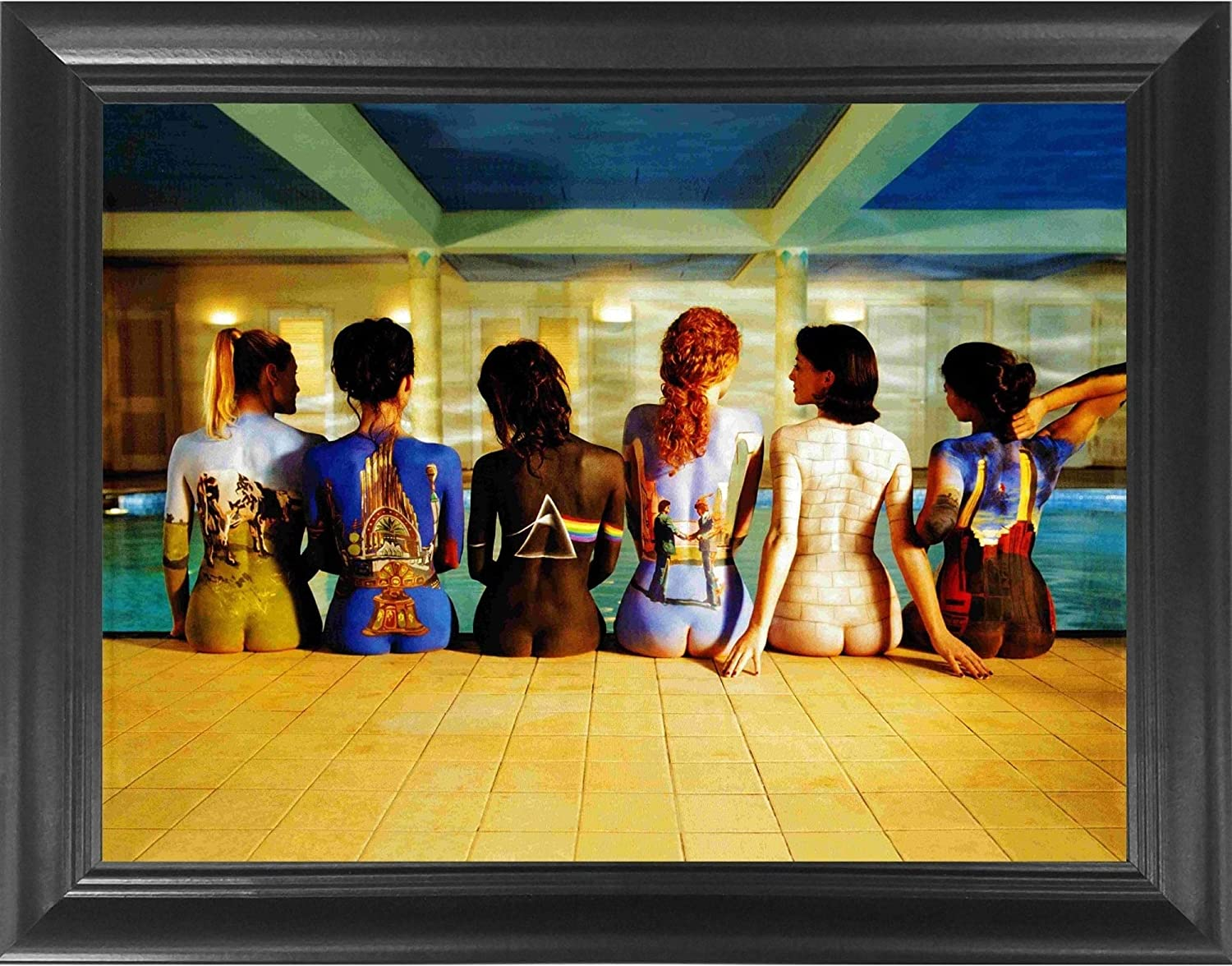 Pink Floyd Back Catalogue 21D Poster Wall Art Decor Framed Print   21.21x21.21    Lenticular Posters & Pictures   Memorabilia Gifts for Guys & Girls ...