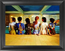 Pink Floyd Back Catalogue 3D Poster Wall Art Decor Framed Print | 14.5x18.5 | Lenticular Posters & Pictures | Memorabilia Gifts for Guys & Girls Bedroom | Darkside of the Moon Vinyl Records & Rock Art