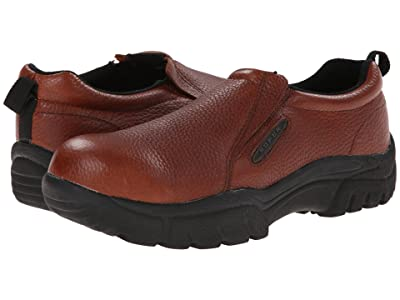 Roper Performance Slip On w/ Steel Toe (Brown) Men