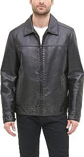Tommy Hilfiger Men's Classic Faux Leather Jacket