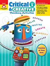Evan-Moor Critical and Creative Thinking Activities Teacher's Book, Grade 5