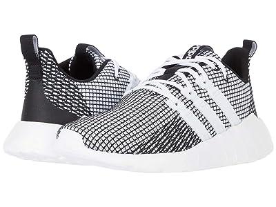 adidas Kids Questar Flow (Little Kid/Big Kid) (Footwear White/Footwear White/Core Black) Kid