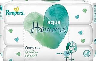 Procter & Gamble Aqua Harmony – babyservetter – förpackning med 9 förpackningar om 48 (432 trasor)