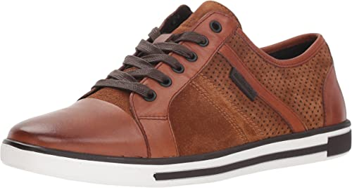 Kenneth Cole New York Men& 039;s Initial Step Turnschuhe, Rust, 10 M US