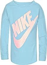 Nike Girls' Long Sleeve Sportswear Graphic T-Shir