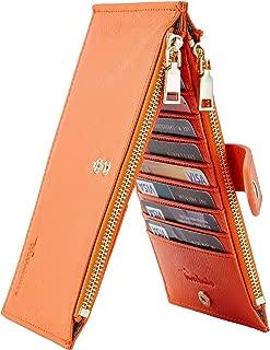 Womens Walllet RFID Blocking Bifold Multi Card Case...