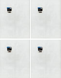 1/3 Pack - Darice Mesh Plastic Canvas - Clear (Total of 4 sheets)