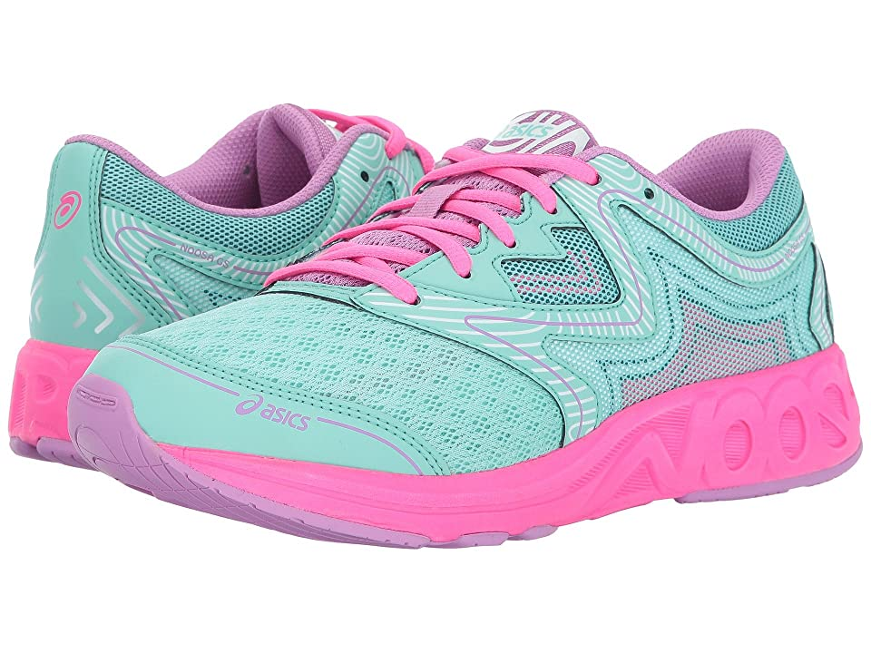 ASICS Kids Noosa GS (Little Kid/Big Kid) (Ice Green/White/Hot Pink) Girls Shoes