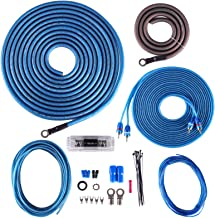 Skar Audio 4 Gauge CCA Complete Amplifier Installation Wiring Kit, SKAR4ANL-CCA