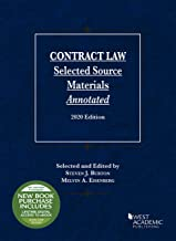 Download Contract Law, Selected Source Materials Annotated, 2020 Edition (Selected Statutes) PDF