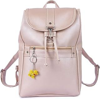 Ratfire Casual School College Bag, Backpack & Handbag for Girls (Cream)