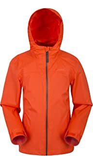 Mountain Warehouse Torrent Kids Waterproof Rain Jacket - Mesh Lined