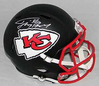 Signed Tyrann Mathieu Helmet - Kansas City Chiefs Full Size Black W Honey Badger - Autographed NFL Helmets