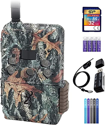 wholesale Browning BTC-DWPS-ATT Defender Pro Scout Cellular Trail Camera - Compatible with AT&T Bundle online sale with 32GB SDHC Card, Blucoil 4 AA Batteries, 6.5' Cable outlet sale Lock, 5x Cable Ties, and VidPro USB 2.0 Card Reader online sale