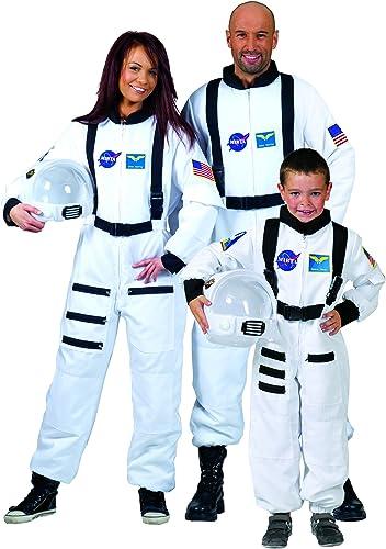 ESPA   FunnyFashion Weißes Astronaut Kostüm für Erwachsene