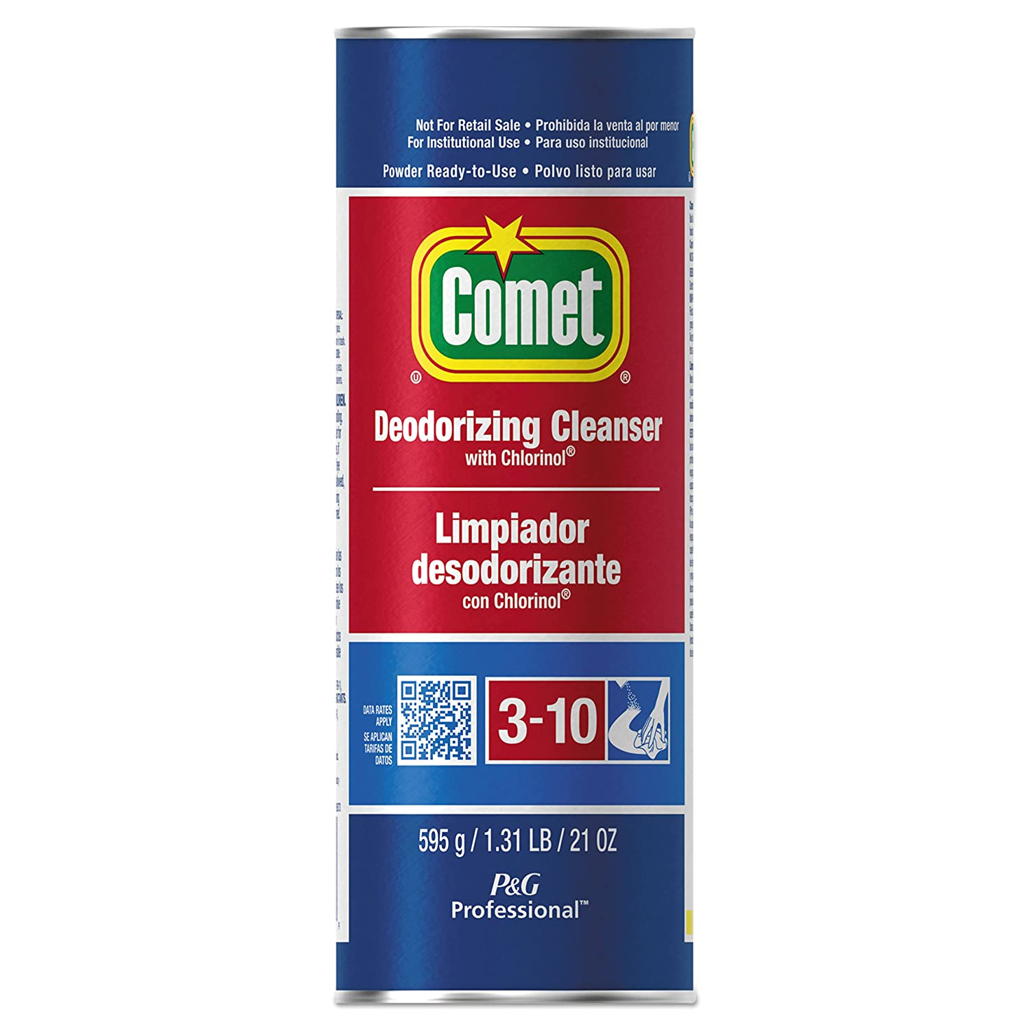 Comet 32987CT Cleanser with Chlorinol oz Canister 21 Excellence Powder Max 78% OFF C