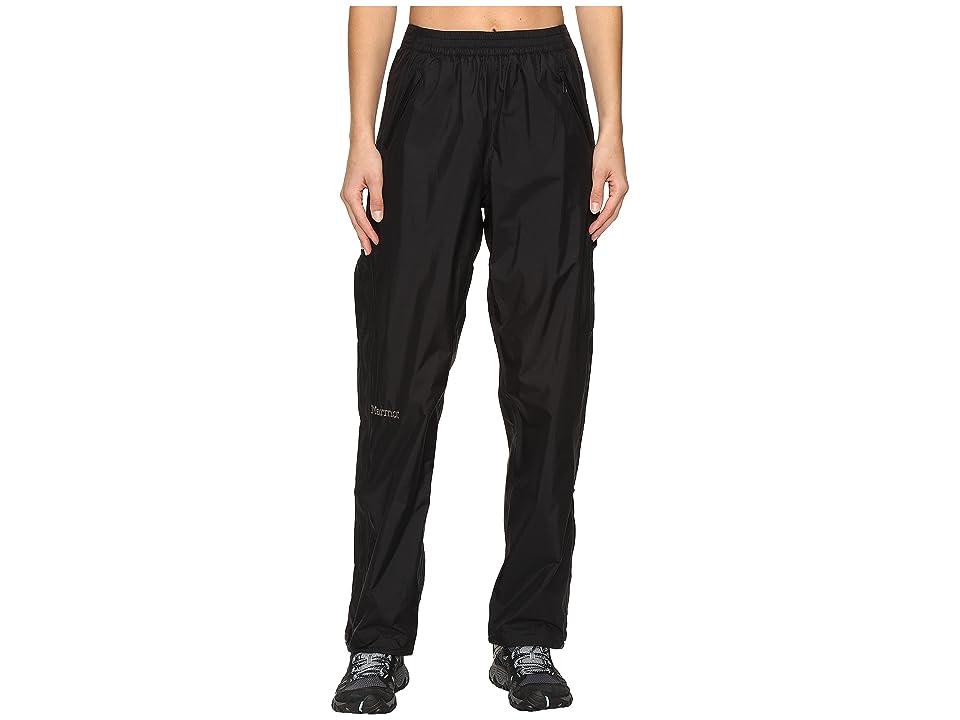 Marmot Precip Full Zip Pant (Black) Women