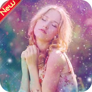 Glitter Sparkle Camera Photo Effect for Pictures / pip makeup collage snapfilters photo editor