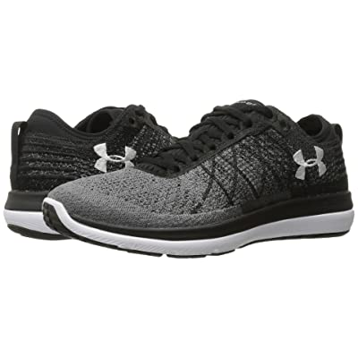 Under Armour Threadborne Fortis 3 (Black/Stealth Gray/White) Women