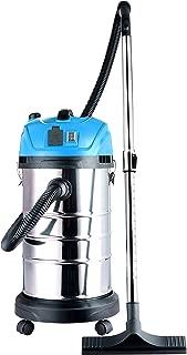ALEKO DWV165 Lightweight Self-Cleaning Wet Dry Vacuum Cleaner 17kPa 8 Gallons Blue