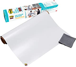 Post-it® Super Sticky Dry Erase Surface DEF3x2, 2 ft x 3 ft (60.9 cm x 91.4 cm), , Whiteboard Film