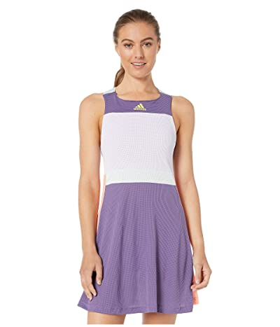 adidas Tennis HEAT.RDY Y-Dress (Tech Purple/Shock Yellow) Women