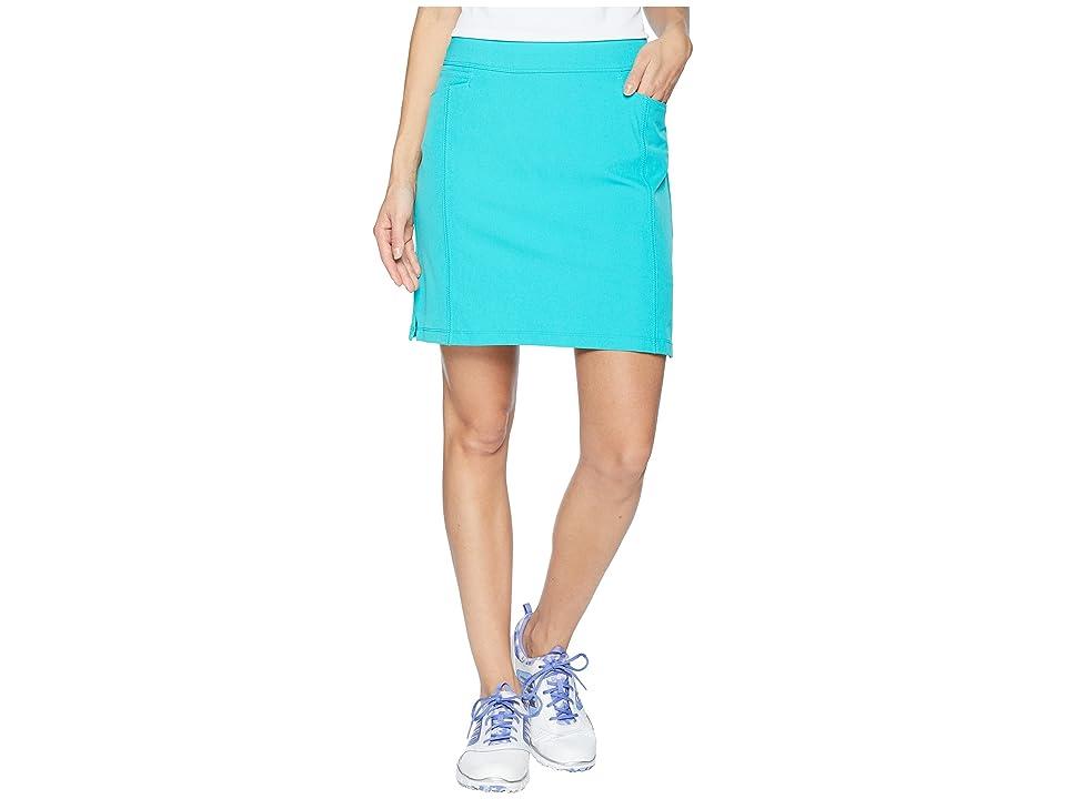 adidas Golf Ultimate Adistar Skort (Hi-Res Aqua) Women